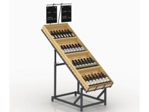 телескопический алкогольный стеллаж для вина